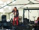 Céline Schmink au Festival Rock'n'Blues de Corrobert (51) en 2013.